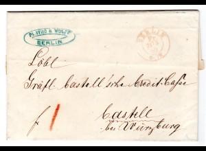 Vorphila Brief von Berlin nach Bastell