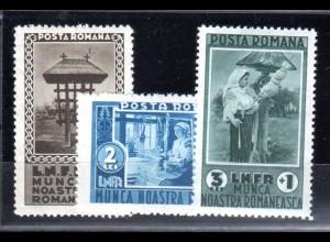 Rumänien, Mi.-Nr. 465-7 postfrisch