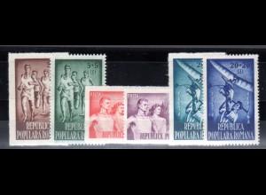 Rumänien, Mi.-Nr. 1171-76 postfrisch