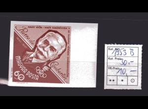 Ungarn, Mi.-Nr. 1953 B, postfrisch.