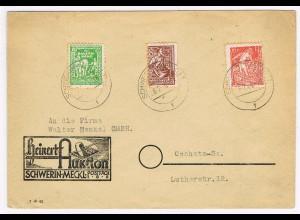 MVP. Satzbrief 23-25b von Schwerin nach Oschatz