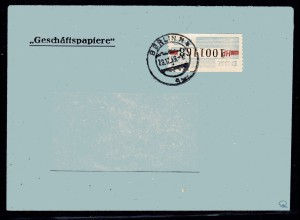 ZKD-Brief EF. Mi.-Nr. 28