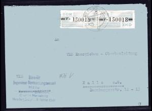 ZKD-Brief EF. Mi.-Nr. 26 V